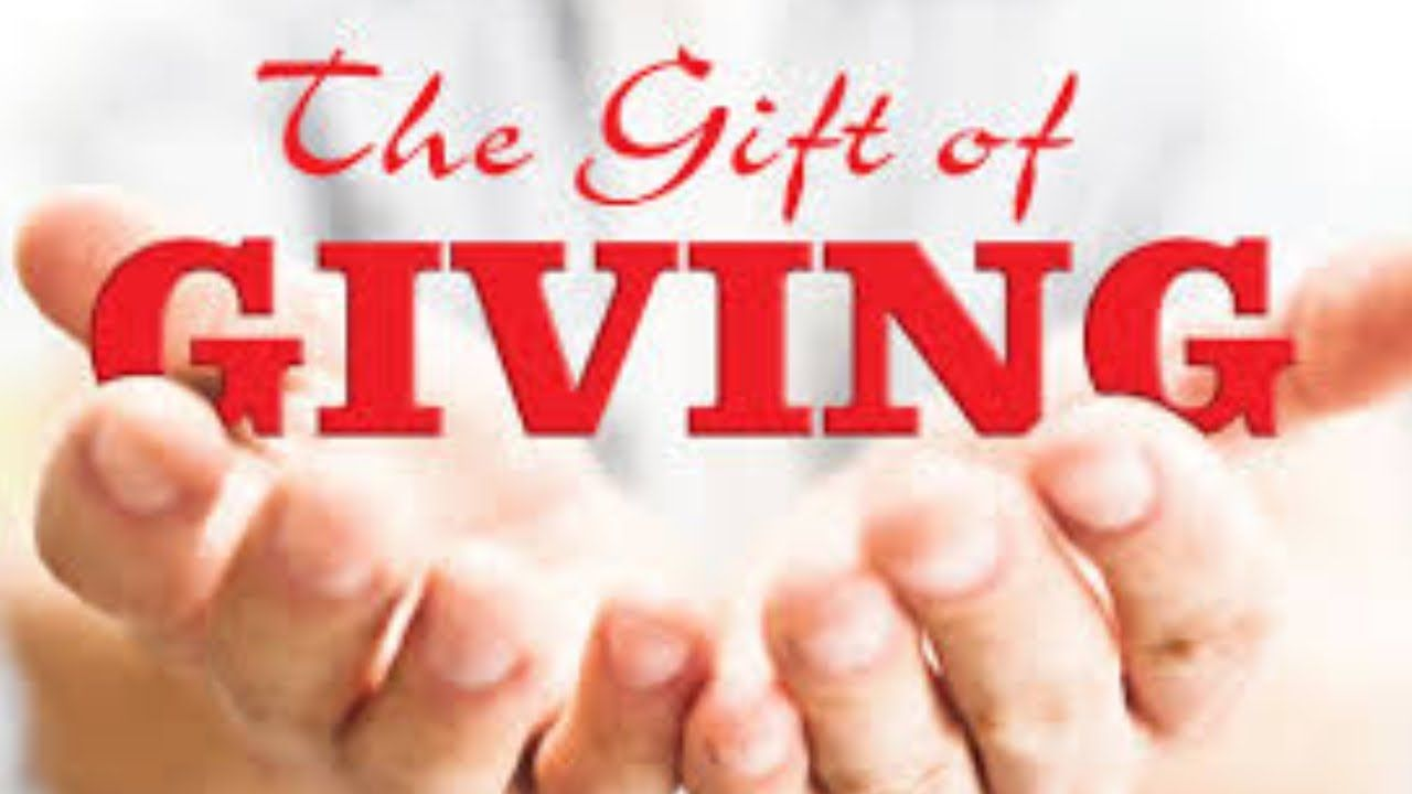 Giving Is Living When You Understand The Principle Of Giving Then Life Understanding Principles Giving