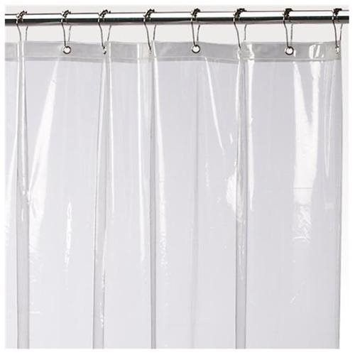 Jumbo Long Size Super Clear 10 Gauge Peva Shower Curain Liner With