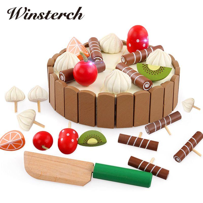 Dzieci Zabawki Urodzinowe Ciasto Ciasto Kuchnia Wczesne Edukacyjne
