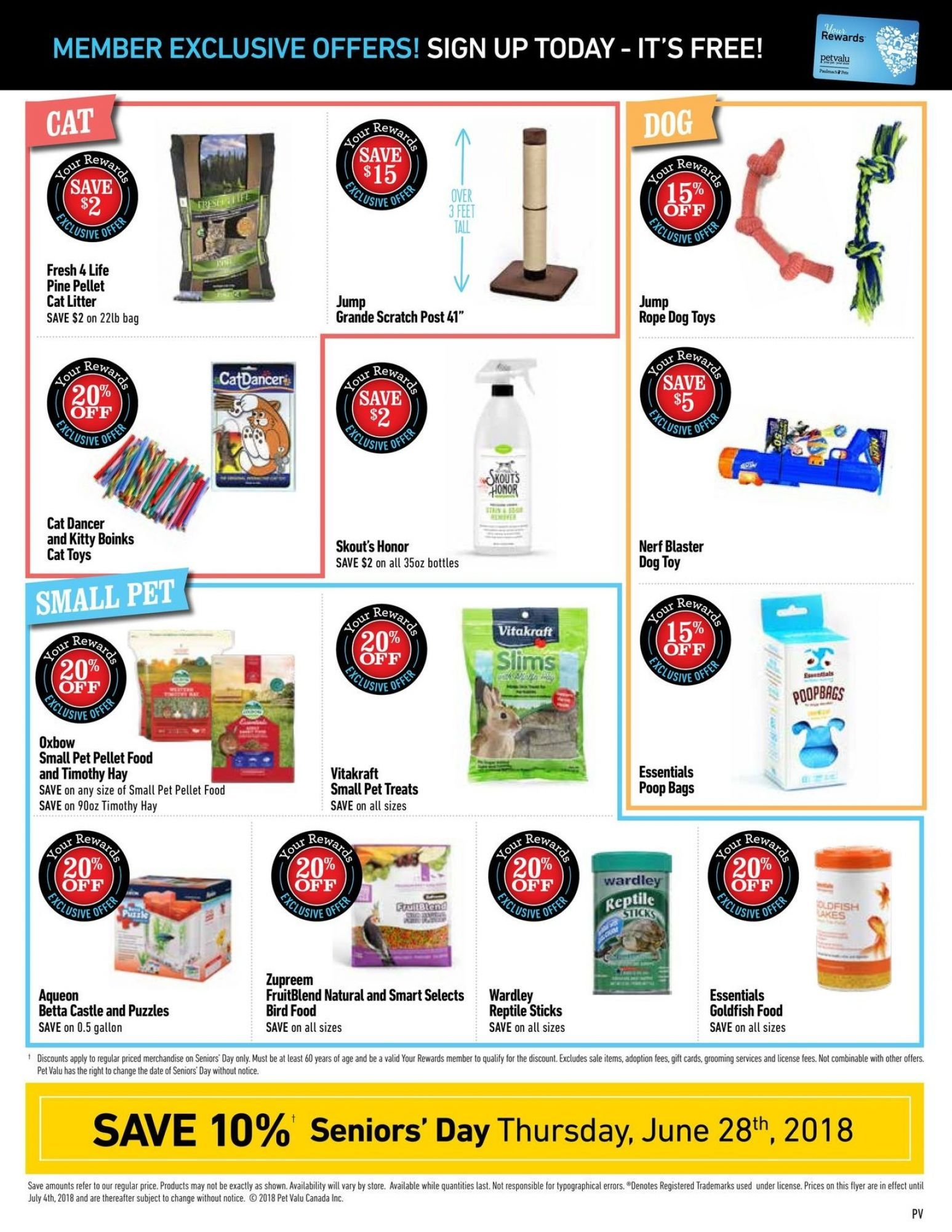 Flyer Pet Valu Canada From Monday June 11 2018 To Wednesday July 4 2018 Flyer Online Flyers Rope Dog Toys