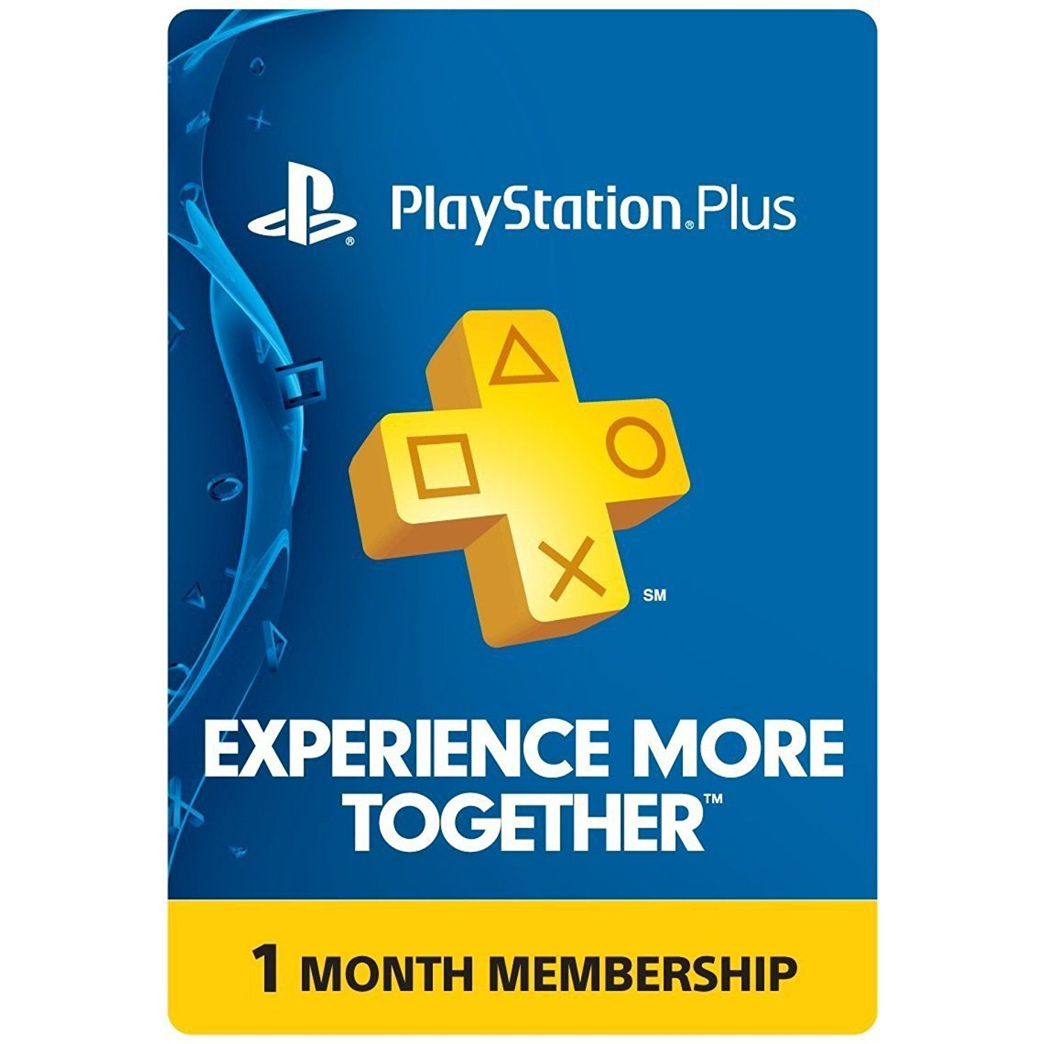1 Month PlayStation Plus Membership PS3 / PS4 / PS Vita