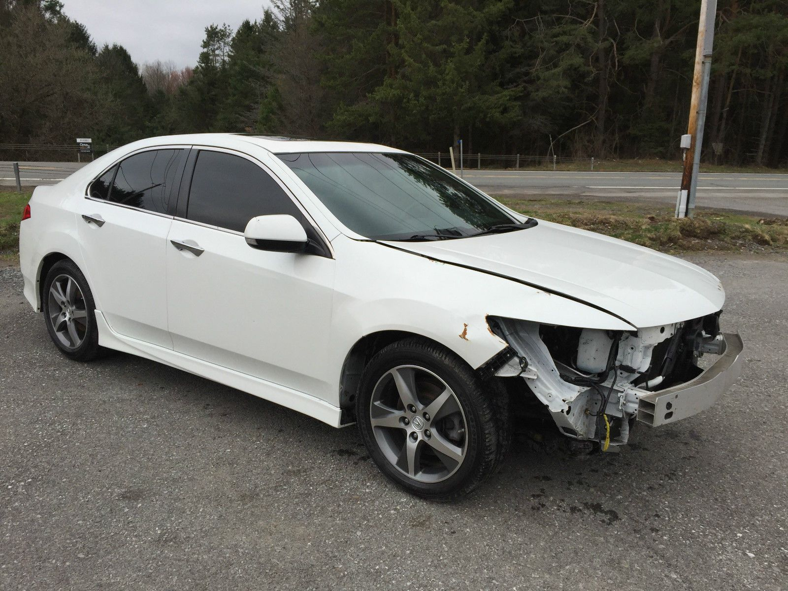 Special Edition 2012 Acura Tsx 4 Door Repairable Wrecked Acura Tsx Acura Sports Cars For Sale