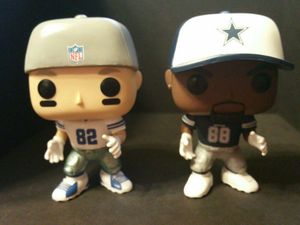 Funko Pop Dallas Cowboys Lot Dez Bryant 48 Jason