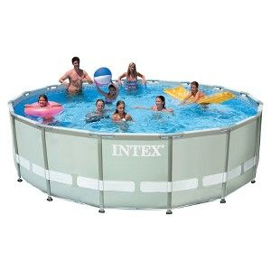 Intex 16 X 48 Ultra Frame Swimming Pool Target Mobile Best Above Ground Pool Swimming Pools Pool Cover