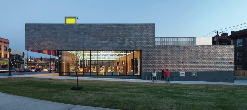 Hennepin County Walker Library   Architect Magazine   VJAA, Minneapolis,  Minnesota, USA,