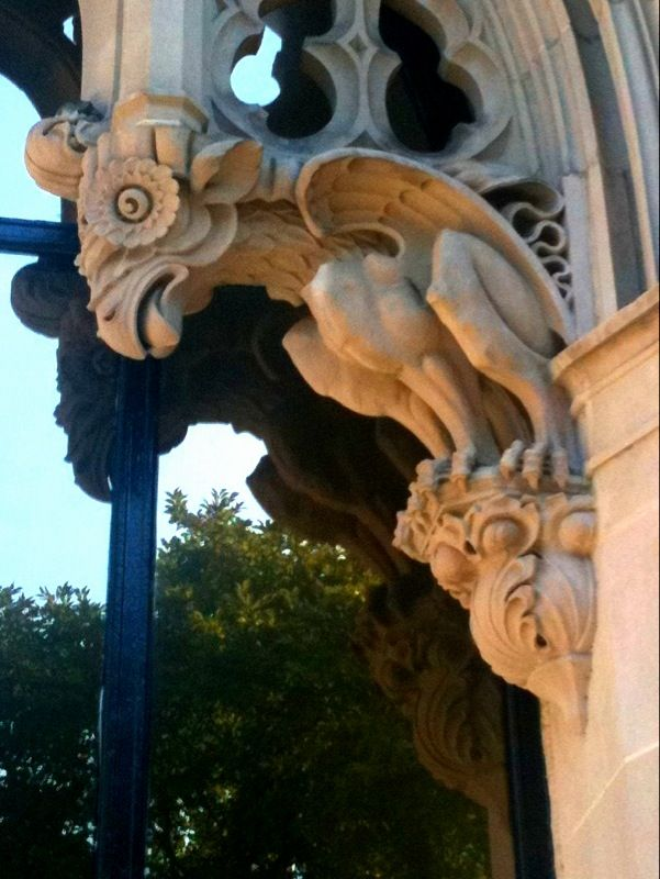 A grotesque at 16th Street, N.W. Washington D.C. - from 44Nathan over at deviant art.