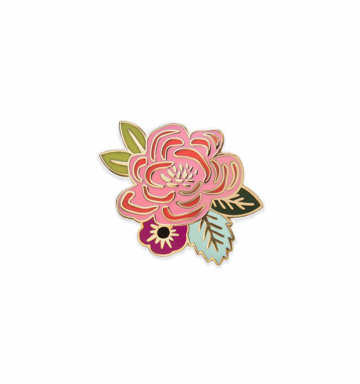 Juliet Rose Enamel Pin In 2019