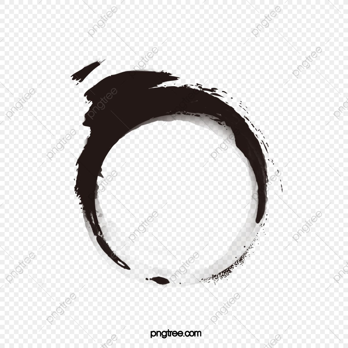 Chinese Ink Style Circle Chinese Clipart Circle Clipart Ink Marks Png Transparent Clipart Image And Psd File For Free Download Circle Clipart Chinese Ink Ink Brush