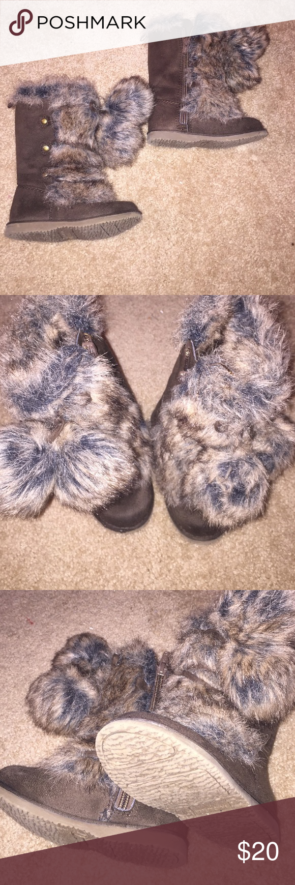 Warm boots Gently used, warm boots for winter Old Navy Shoes Boots