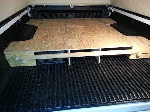 Home Made Camper Truck Bed Box 1999 Tacoma Youtube Truck Bed Mattress Truck Bed Truck Bed Organization