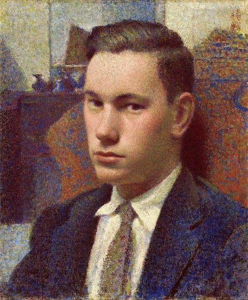 Portrait Of Christopher (Artist's Ninth Son) by Carl Schmitt (1889 – 1989)