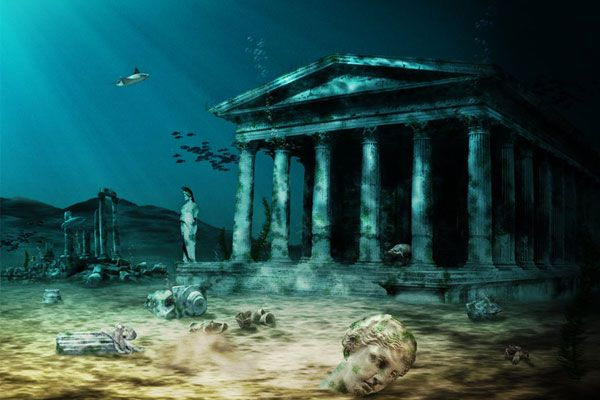 City of Atlantis Underwater   led research team may have finally located  the lost city of. City of Atlantis Underwater   led research team may have finally