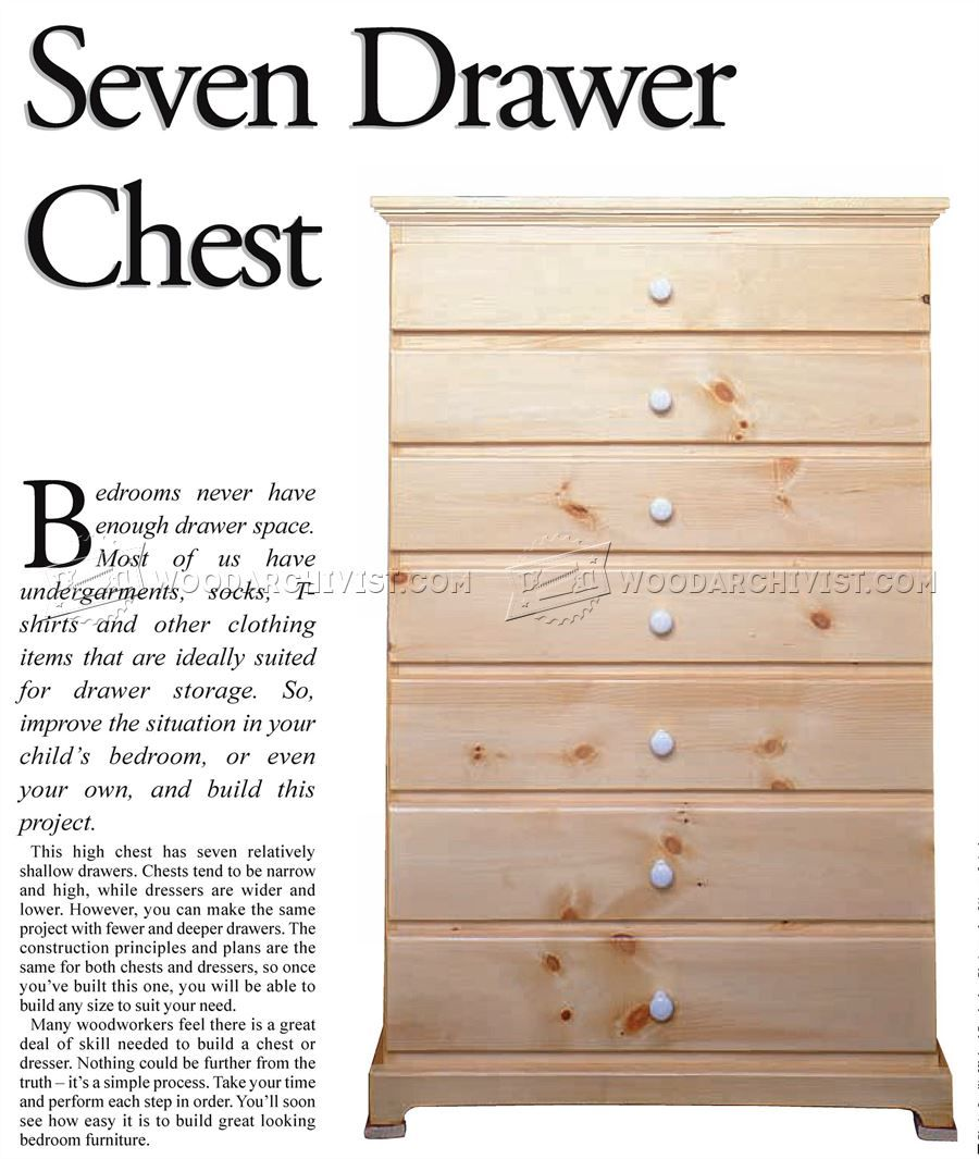 Tall Chest Of Drawers Plans Furniture Plans Chest Of Drawers How To Plan Drawers