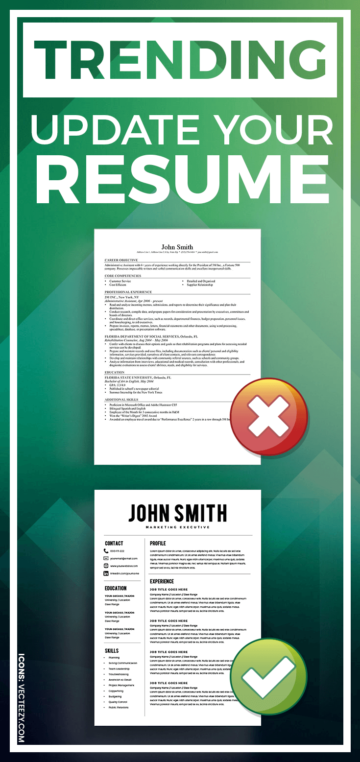 Trending Update Your Resume Resume Template Resume Builder Cv