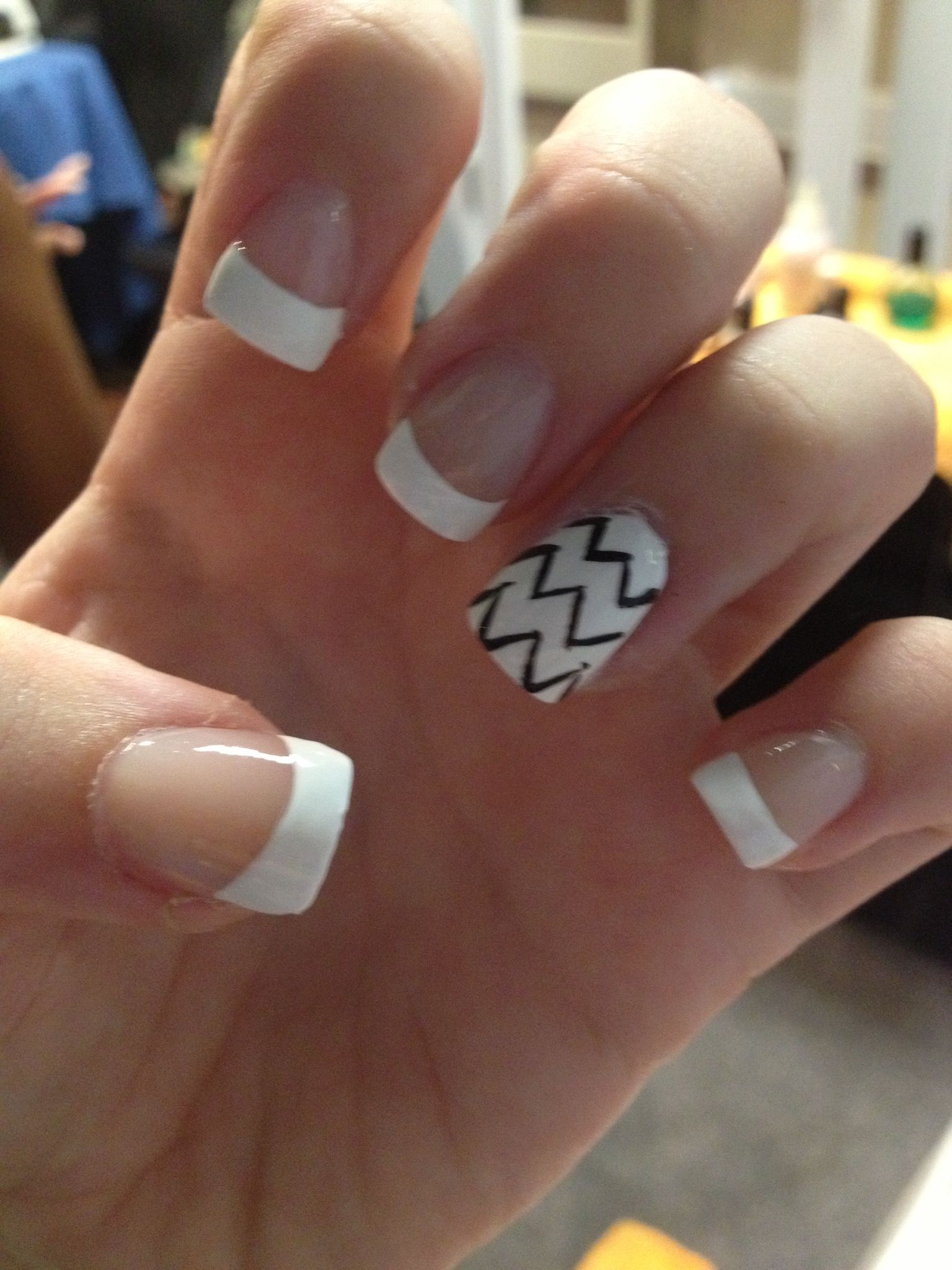Cute and simple nail design! | Clothes, Makeup, Nails | Pinterest