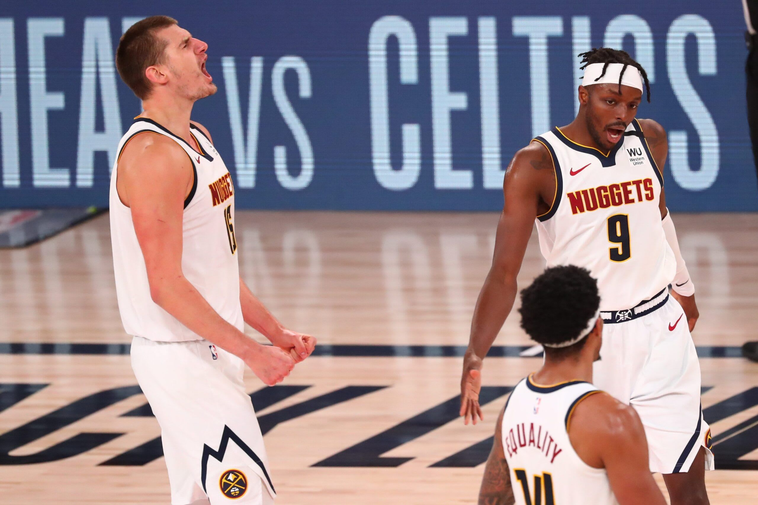 Denver Nuggets Stun L A Clippers In Game 7 To Reach West Finals Jeff Zillgitt Usa Today Www Bit Ly P Spo Sports Sport Portal4s In 2020 Denver Nuggets Nba Stunning