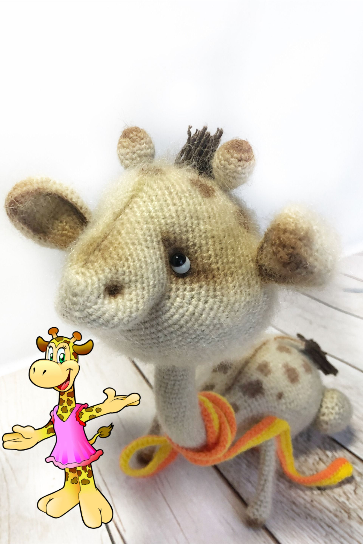 Crochet Toy Amigurumi Giraffe Handmade Home Decor Animal Jungle Stuffed Toy Mohair Giraffe Gift For Friends Unique Toy Christmas Unique Toys Crochet Toys Giraffe Crochet