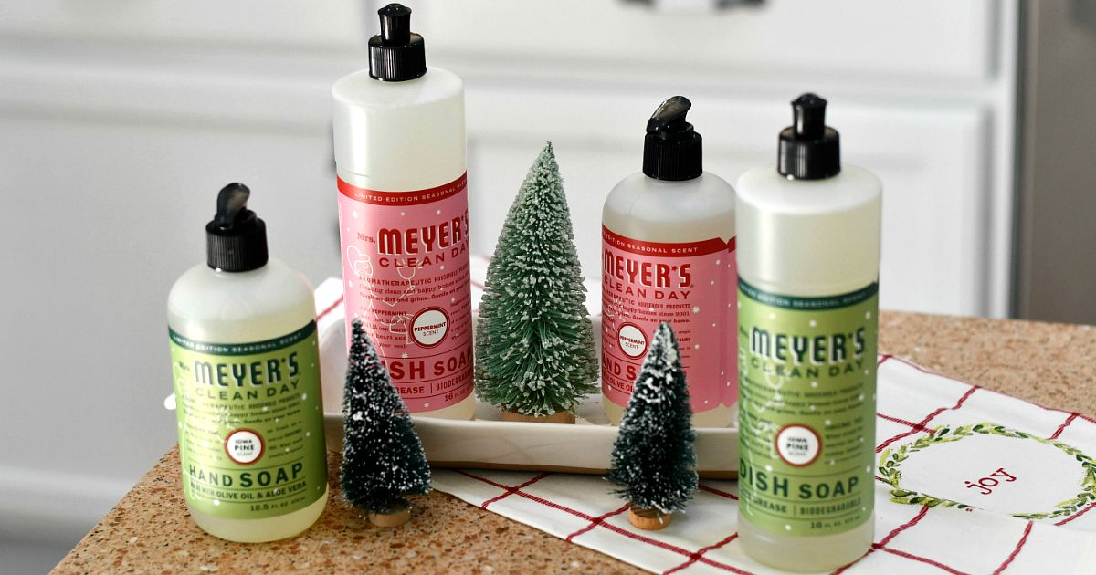 Free mrs meyers holiday gift set w grove collaborative