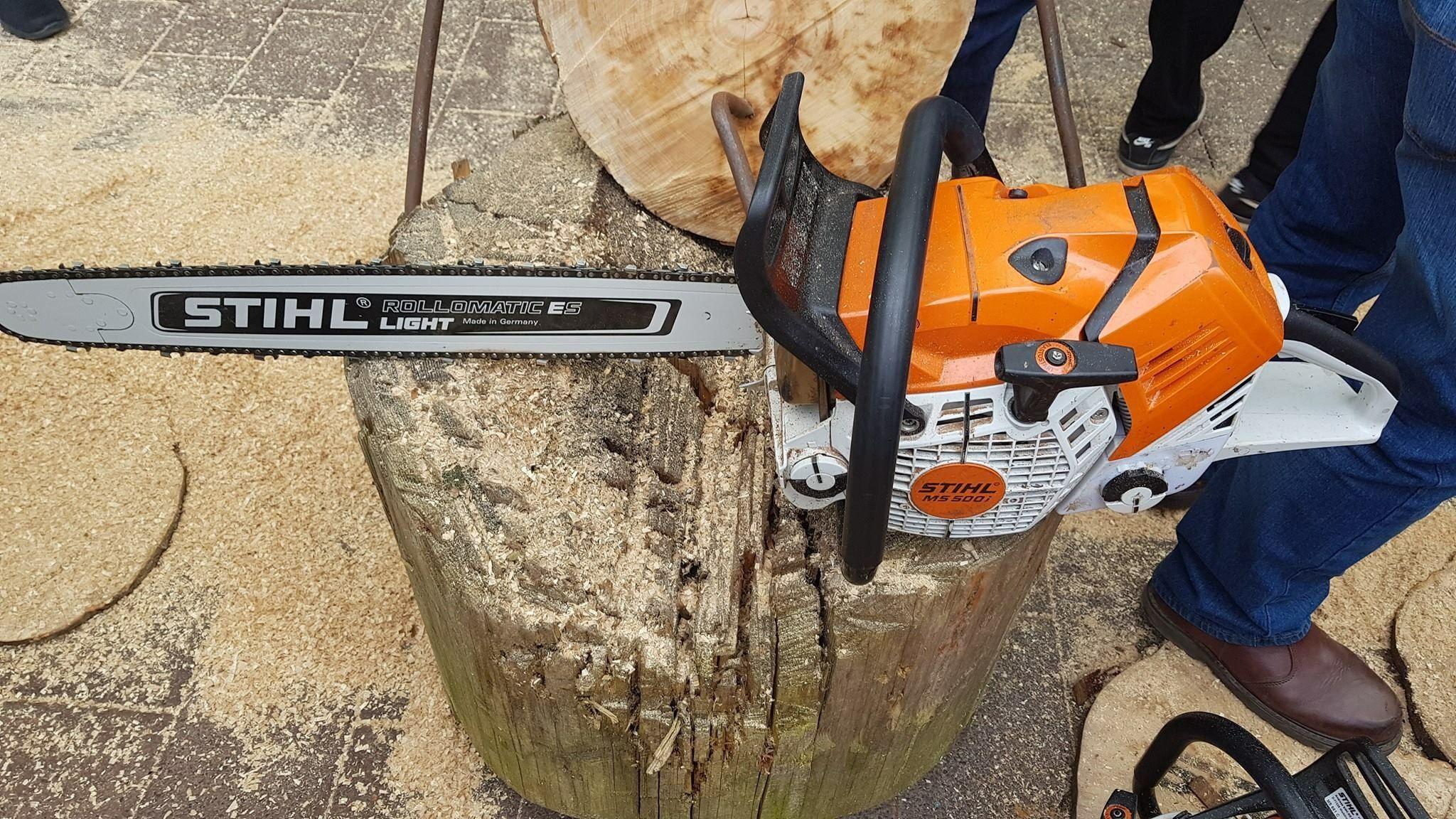 stihl ms 500i | mircea în 2018 | pinterest | chainsaw, wood și cool