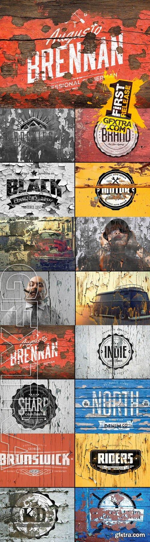 12 Vintage Logo Mockups Creativemarket 46654 Vintage