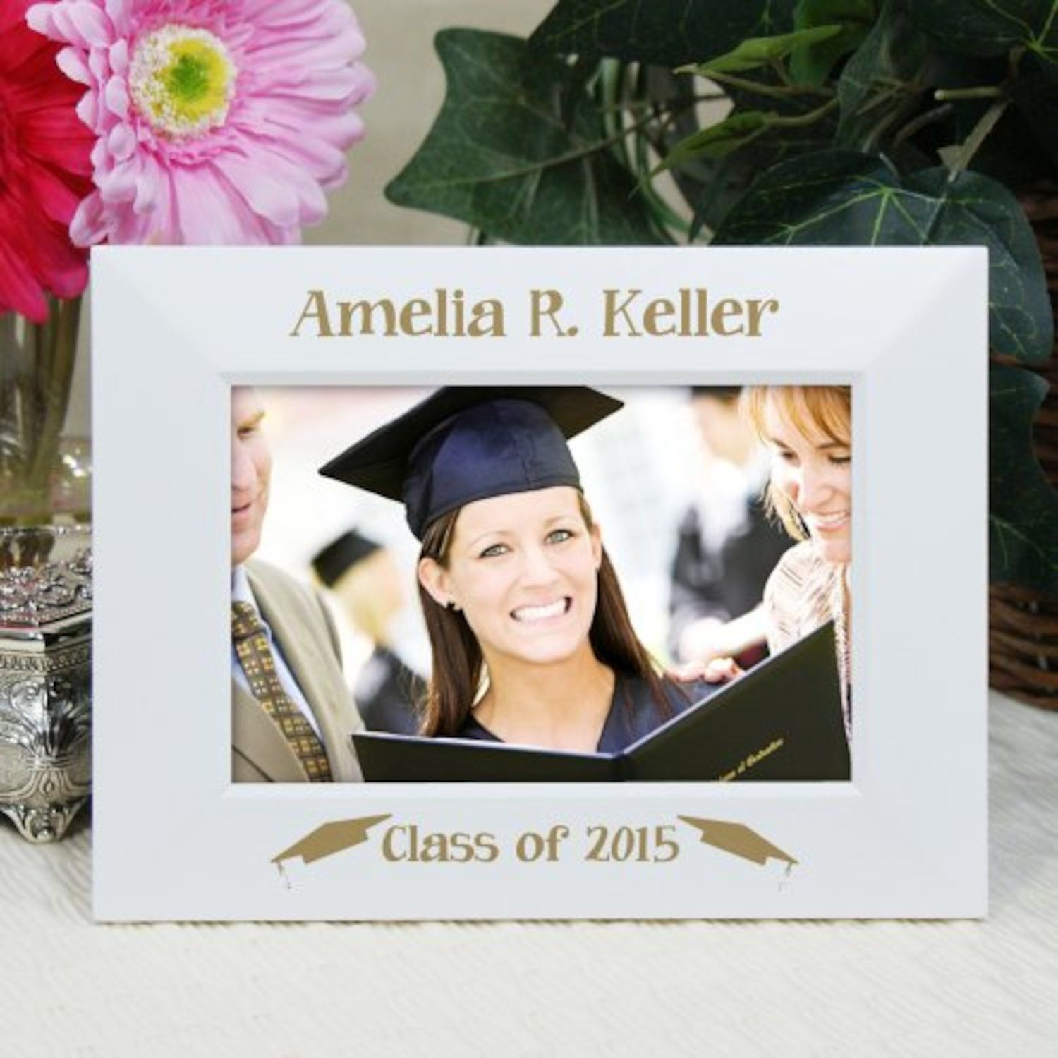 personalized engraved graduation picture frame - Engraved Frames