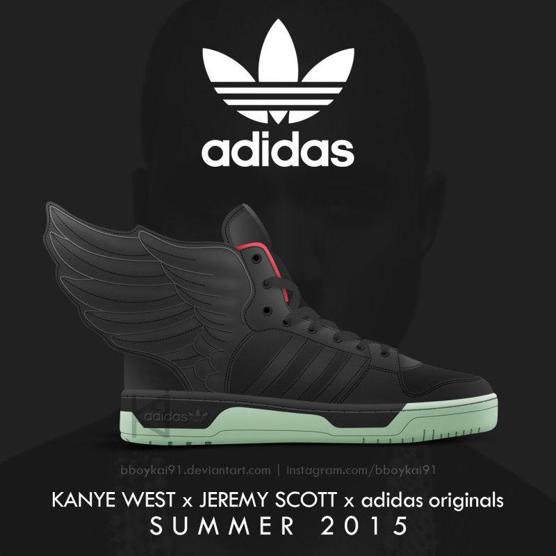 Pin Von Tangmo Auf Sneaker Sneaker Adidas Originals Jeremy Scott