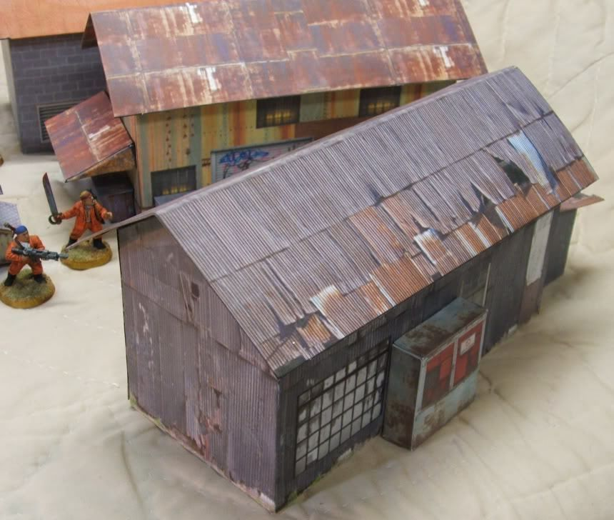 Lots Of Terrain Paper Models For Diorama And War Free Templates
