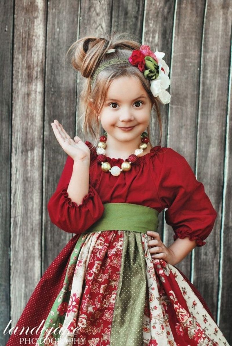 21 #Adorable Christmas Outfits for Kids ... | Sewing: Winter Holiday ...