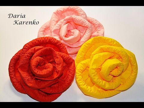 Cvety Iz Salfetki Svoimi Rukami Master Klass Flowers Paper Craft Supplies Rose