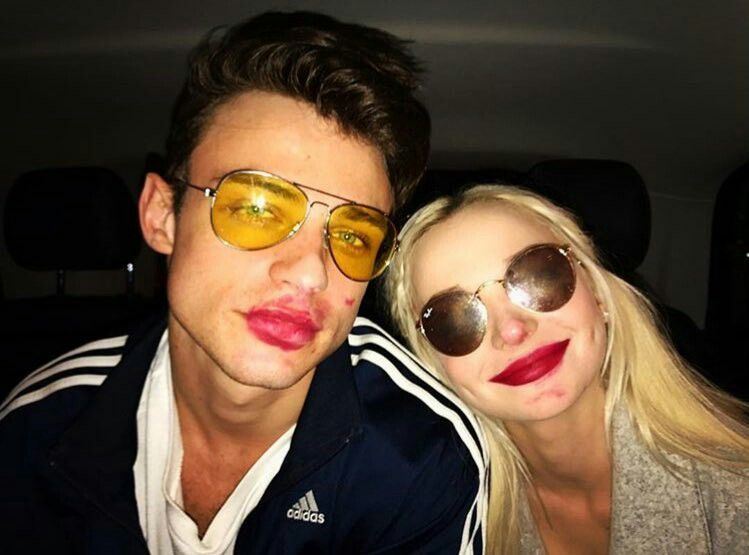 Dove Cameron On Thomas Doherty Posted On Instagram Kissing In The