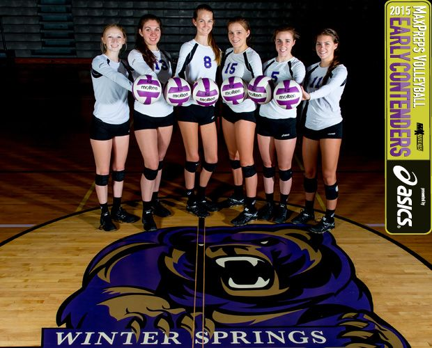 Maxpreps Preseason Top 25 Volleyball Early Contenders Nos 10 6 Maxpreps Volleyball Fall Sports Winter Springs