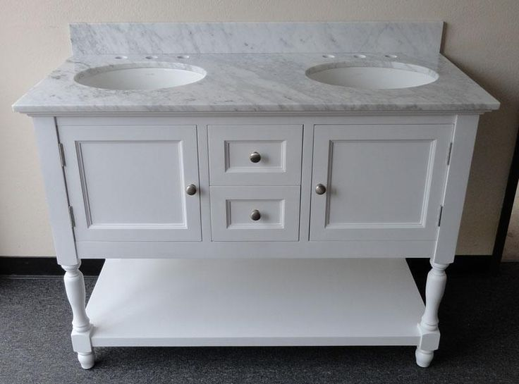 Creative Of 48 Inch Double Bathroom Vanity Best Ideas About Small