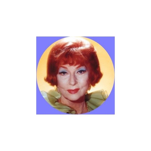 Bewitched Beography on Agnes Moorehead - Bewitched @ Harpies Bizarre ❤ liked on Polyvore