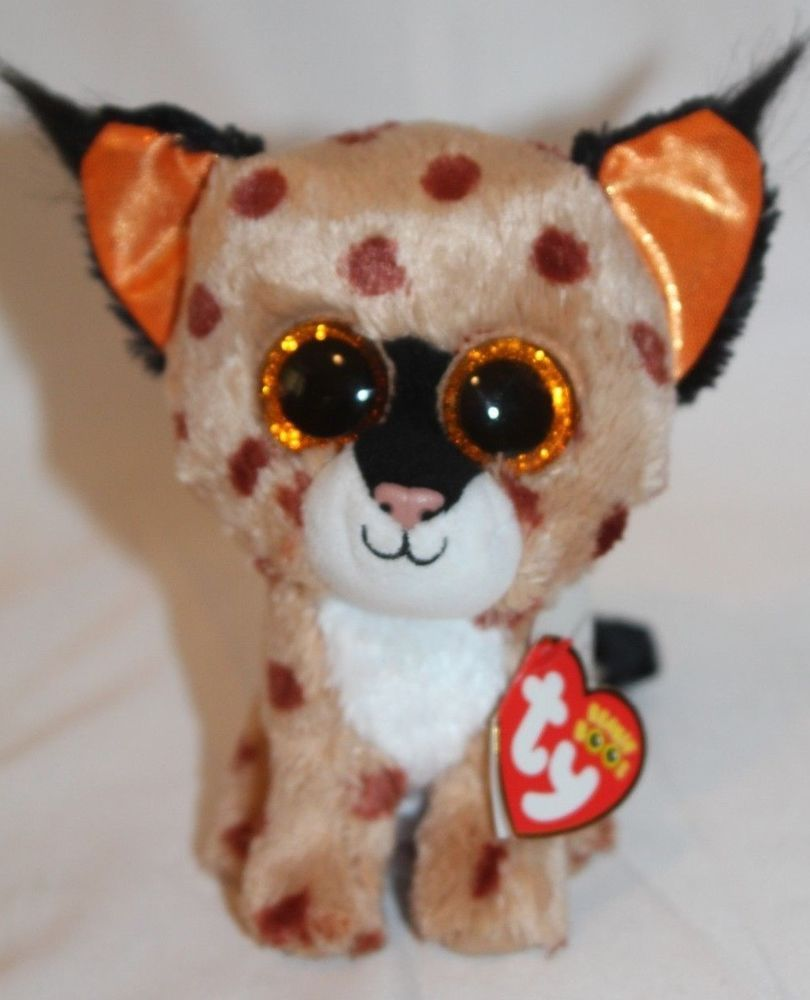 TY Beanie Boos BUCKWHEAT the Lynx 10