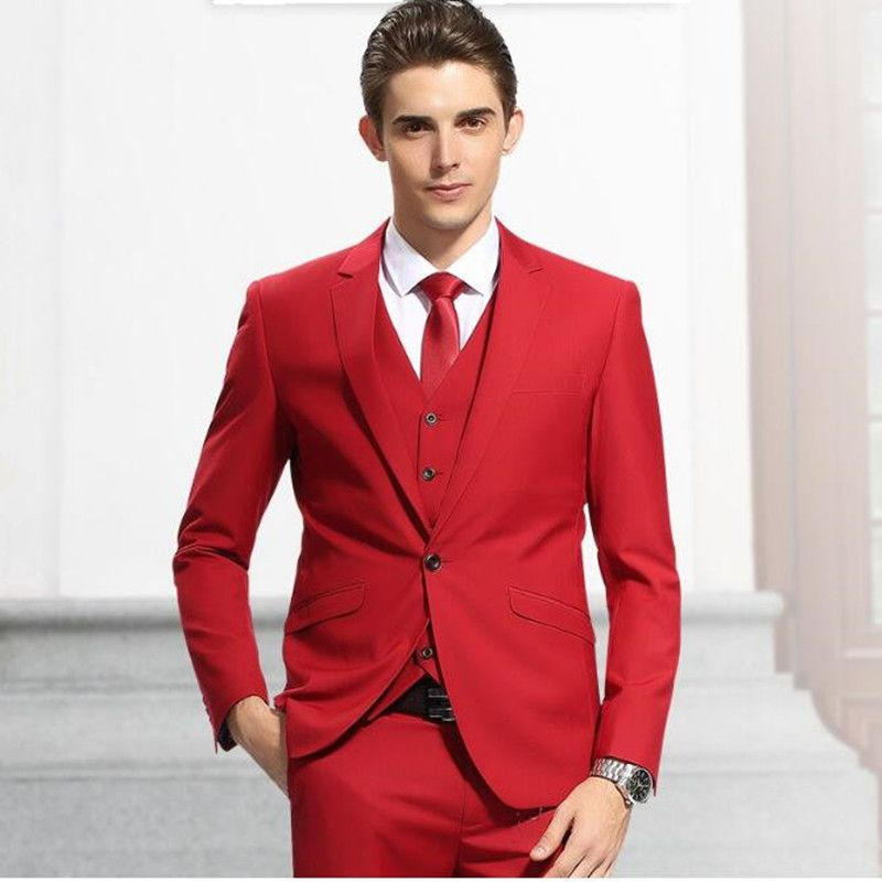 Image result for red suit prom | matric dance | Pinterest | Groom ...