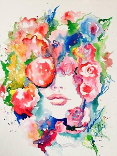 La Vie en Rose 2 | Saatchi art, Saatchi and Paintings