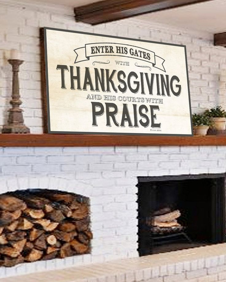 Enter His Gates With Thanksgiving  Farmhouse Wall Decor is part of decor Styles Names - Enter His Gates with Thanksgiving in your Hearts and courts with Praise rustic home decor wall art  Our thanksgiving bible verse sign will add that extra detail to your rustic home  Our canvas signs fit the perfect space with many options  We know you look everywhere for that farmhouse decor but when you find it it doe