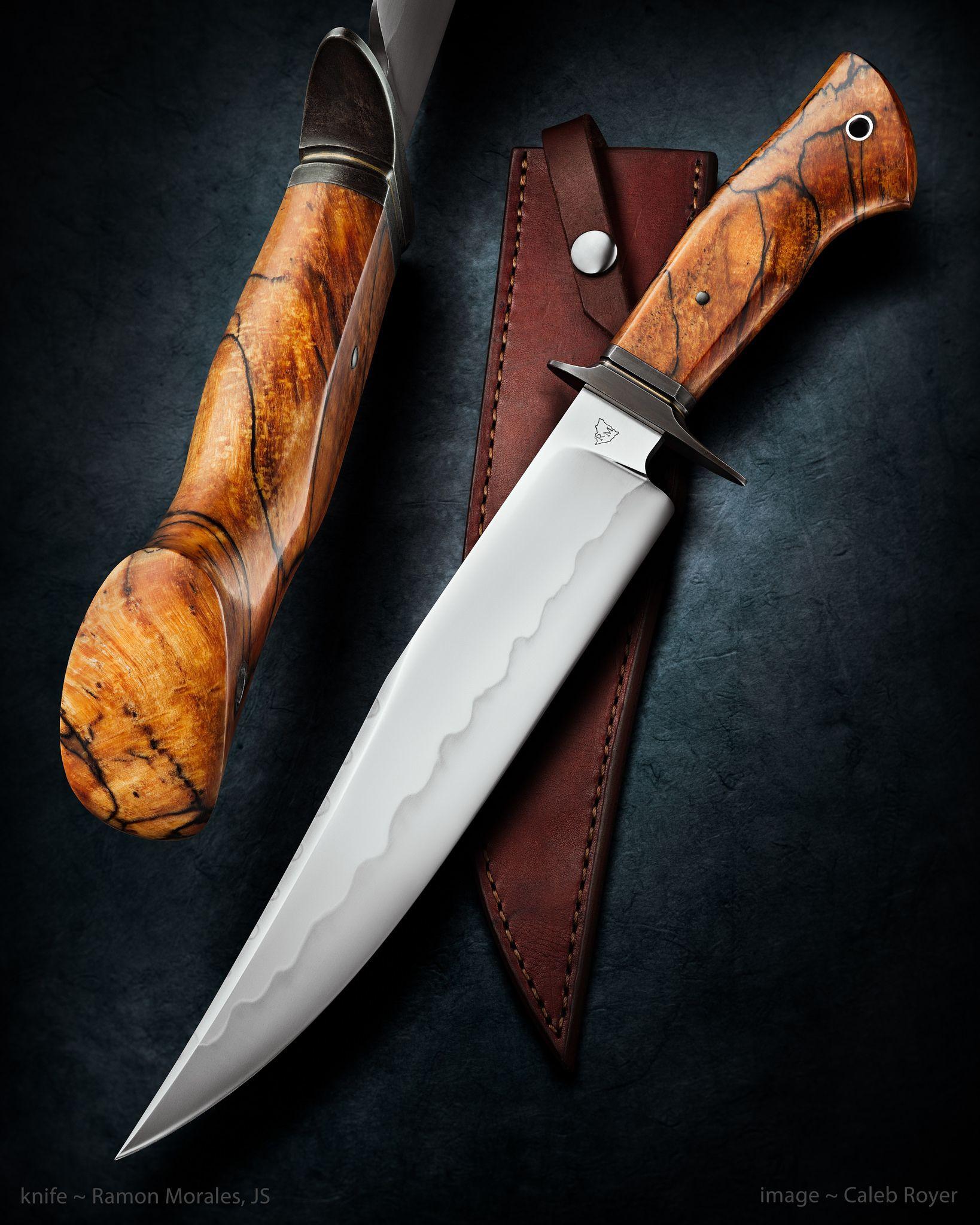 pleasant cool knives. Hunting knives Ramon Morales JS  Nicaragua Blades Pinterest Knives Blade