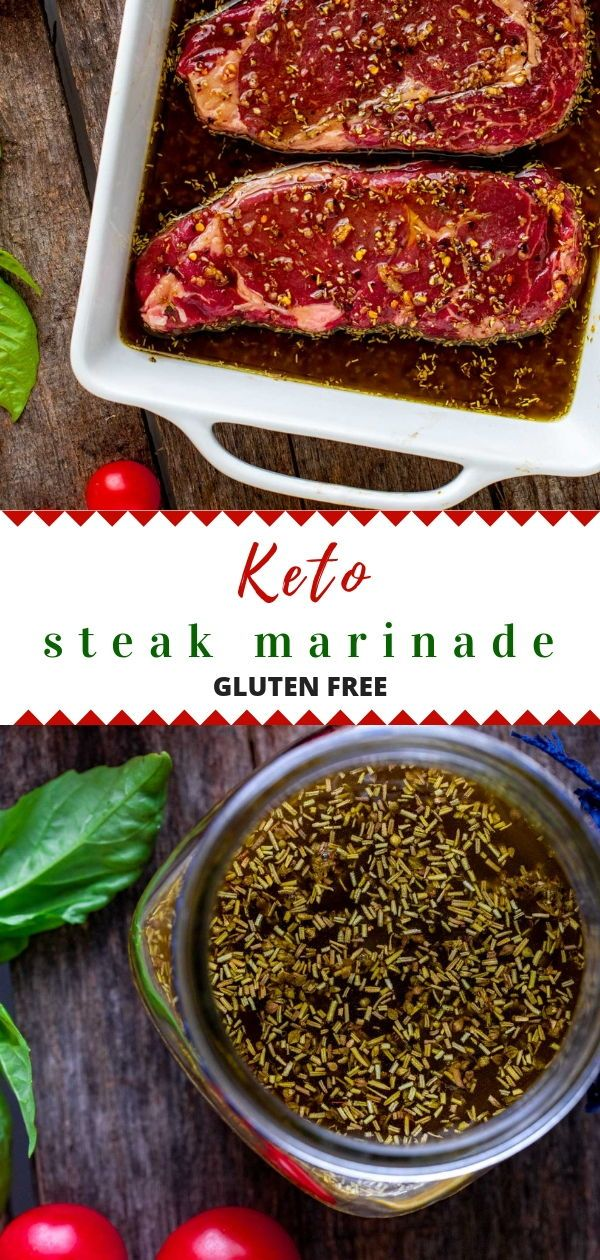 Keto Steak Marinade - Kicking Carbs