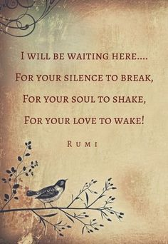 Rumi quotes on heartbreak