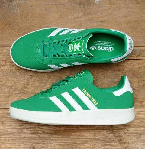 GREEN/WHITE COLOURWAY ON THESE TRIMM TRABS PERFECT FOR THE CELTIC ...
