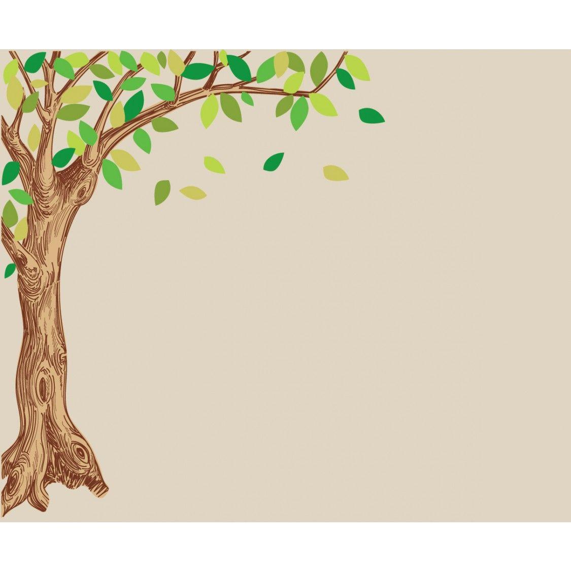 Corner Oak Tree Decals For Children