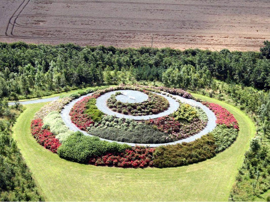 spiral rose garden | spirals | pinterest | spiral, vegetable