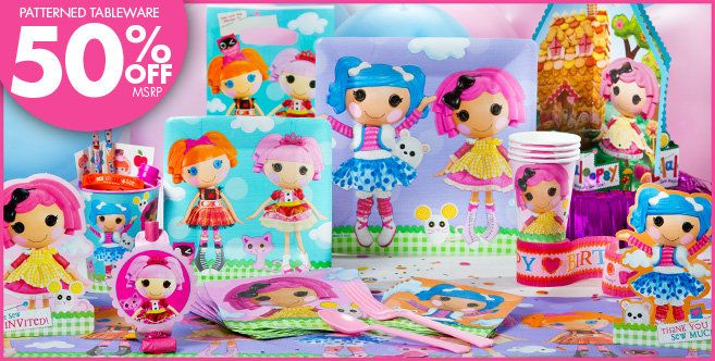 Lalaloopsy Party Supplies Birthday Decorations