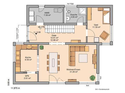 Familienhäuser MİMAR VE KONUT in 2019 Haus grundriss