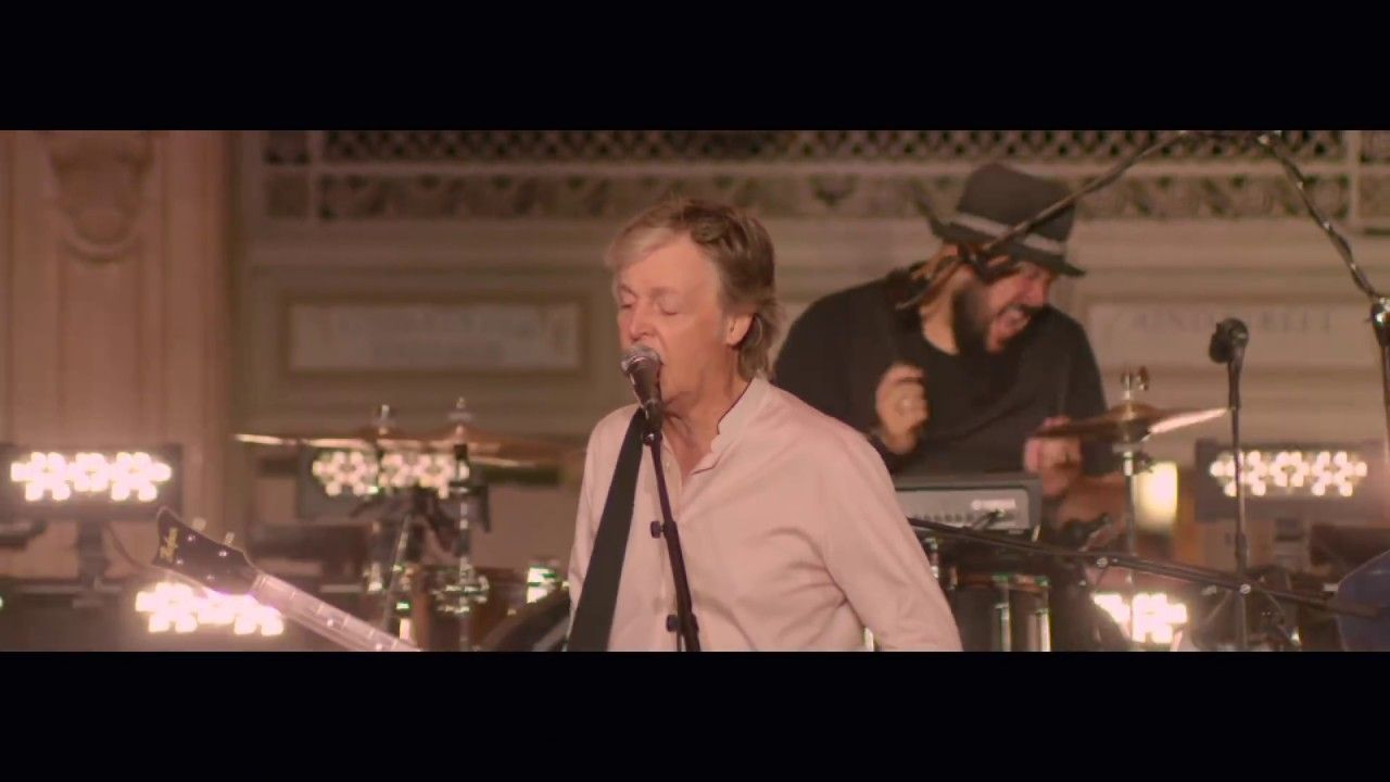 Paul mccartney uwho caresu live from grand central station new