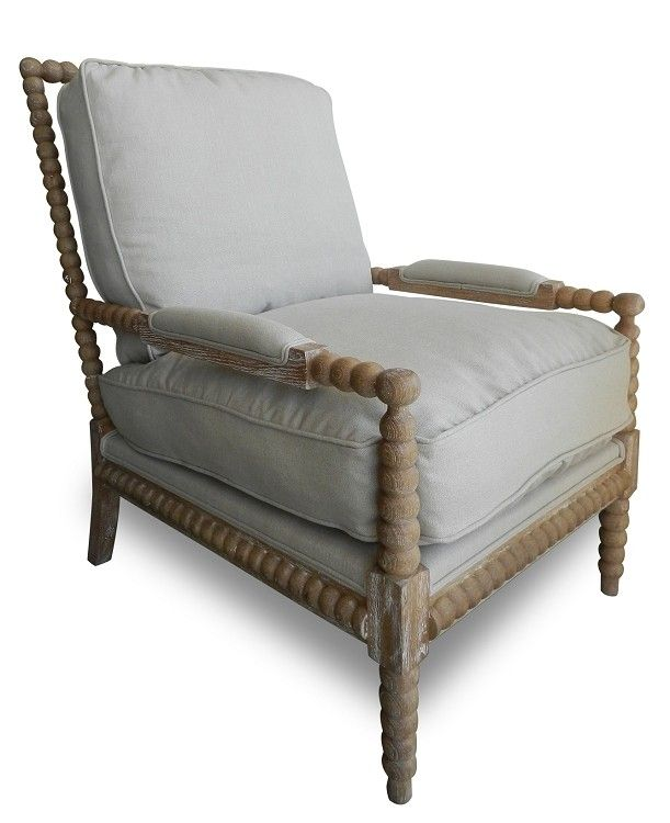 Attrayant Spool Chairs For Sale | Spool Chair Pair In Whitewash Oak Charlotte U0026 Ivy