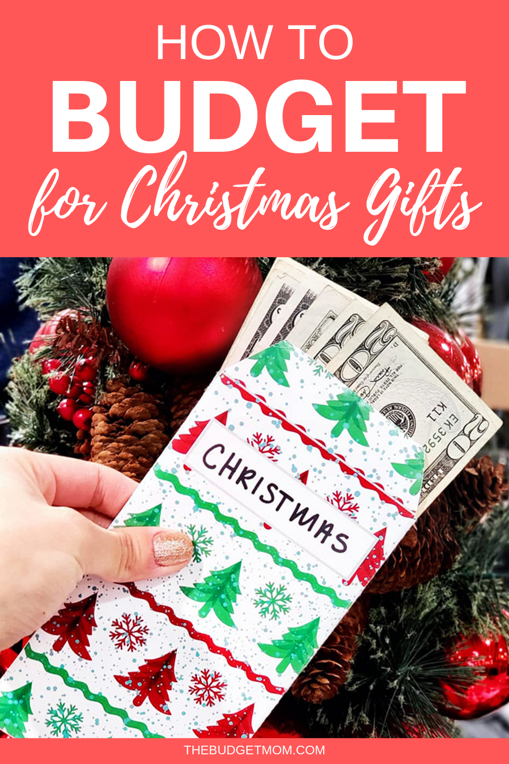 How To Budget For Christmas Gifts Christmas On A Budget Budgeting Budgeting Money
