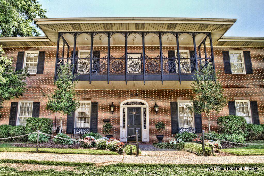 The Beta Mu Chapter Of Alpha Phi At The University Of Alabama