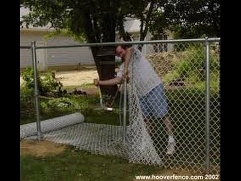How To Install A Chain Link Fence Part 2 Chain Link Fence Chain Link Fence Installation Chain Link Fence Parts